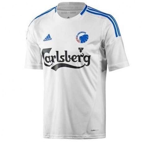 Fútbol Soccer Jersey FC Copenhague casa 2012/13-Adidas