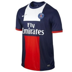 Maillot du PSG - Paris Saint Germain football maillot domicile 2013/14-Nike