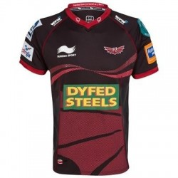 Llanelli Scarlets Rugby Trikot Away 2012/13