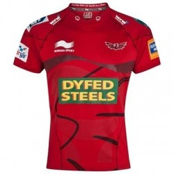 Llanelli Scarlets Rugby jersey 2012/13 Home