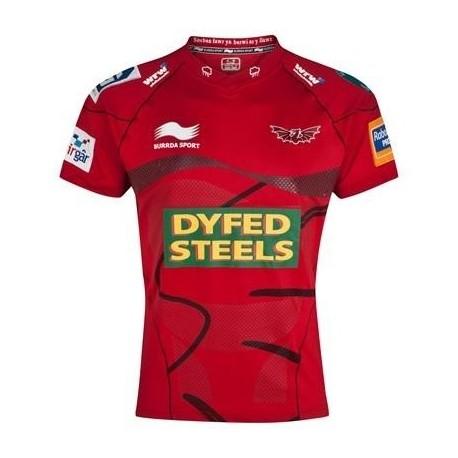 Llanelli Scarlets Rugby Trikot 2012/13-Startseite
