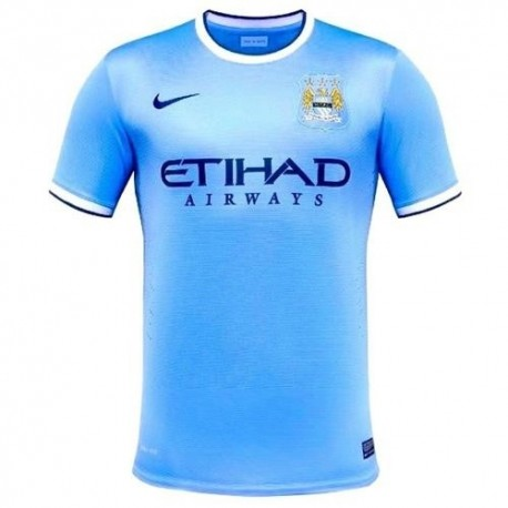 Camiseta de fútbol de Manchester City Home Nike 2013/14-