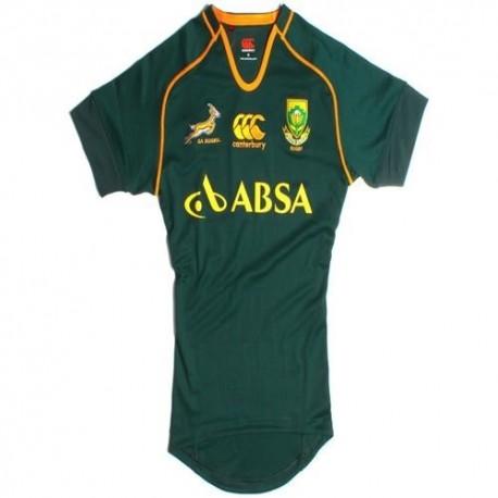 Jersey de Rugby nacional Sudáfrica 2013/14 Inicio Test Match