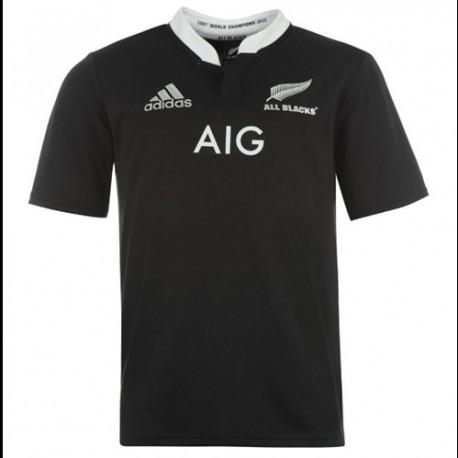 La camiseta Nacional de Rugby de Nueva Zelanda casa 2013/14