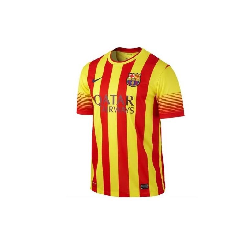 FC Barcelona Away Football Jersey 2013/14-Nike