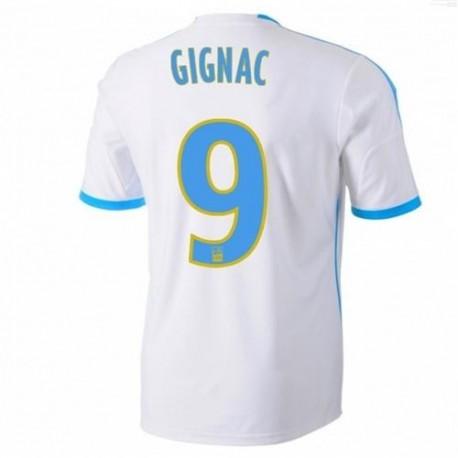 Maglia Olympique Marsiglia Home 2013/14 Gignac 9 - Adidas