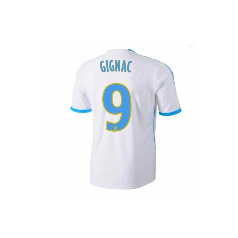 Olympique Marseille Home Jersey 201314 Gignac 9 Adidas SportingPlus Passion for Sport