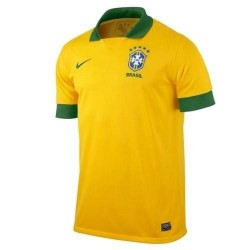 Brazil National Soccer Jersey Home 2013/14-Nike