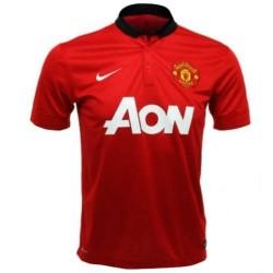 Manchester Unidos casa fútbol camisa 2013/14-Nike