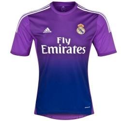 Véritable gardien de but de Madrid FC maillot domicile 2013/14-Adidas