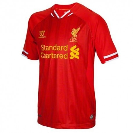 Liverpool Fc Soccer Jersey Home 2013/14-Warrior