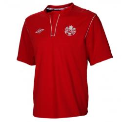 Camiseta de fútbol de Canadá equipo nacional casa 2013 - Umbro
