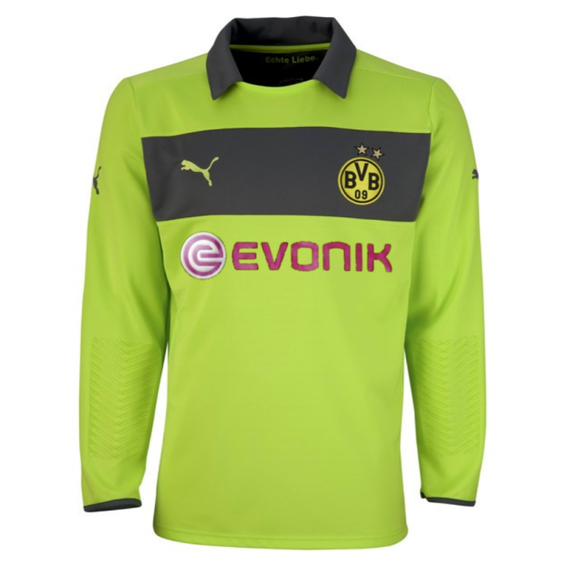 size 40 f380f 9170c BVB Borussia Dortmund Away Goalkeeper jersey 2012/13 - Puma ...