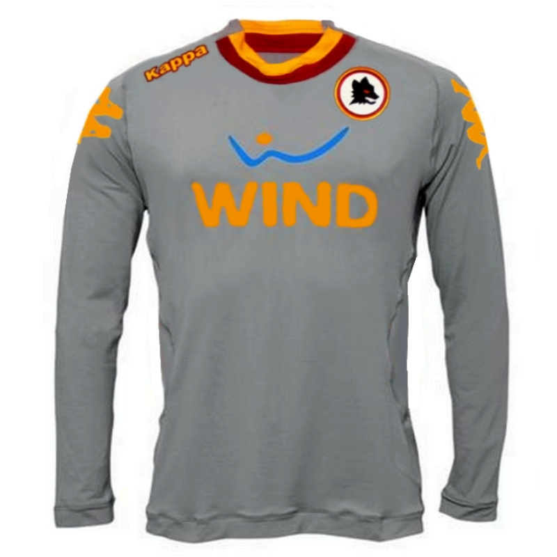 cheap for discount 766cd cb1e9 As Roma Home Goalkeeper jersey 2012/13 - Kappa ...