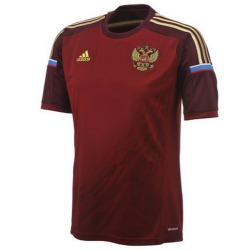 Russia national team Home football shirt 2014/15 - Adidas
