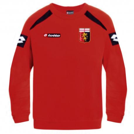 Genoa CFC Training sweat top 2012/13 Player Issue - Lotto