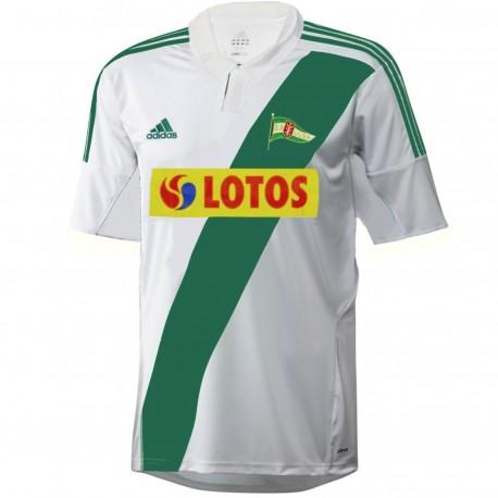 Maglia calcio Lechia Gdansk (Danzica) Home 2012/13 - Adidas
