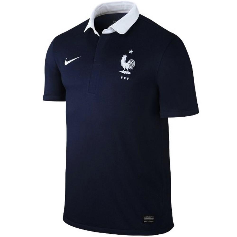 France maillot de foot de domicile 201415 Nike SportingPlus Passion for Sport