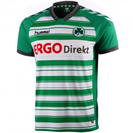 Greuther Furth Home shirt 2013/14 - Hummel