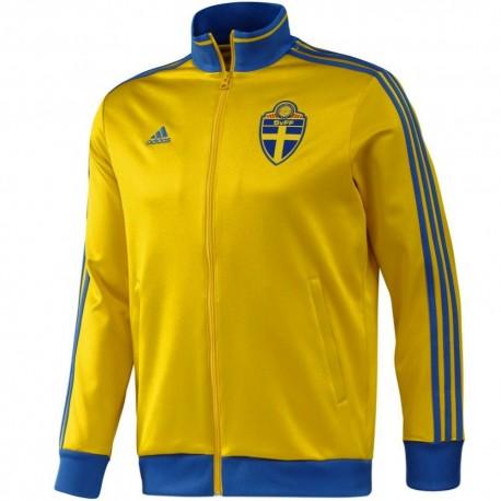 Veste De Présentation Adidas Équipe Suède Nationale 2014 nkOP0wX8
