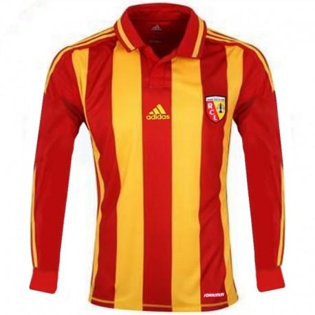 Maglia calcio RC Lens Home 2012/13 Player Issue - Adidas