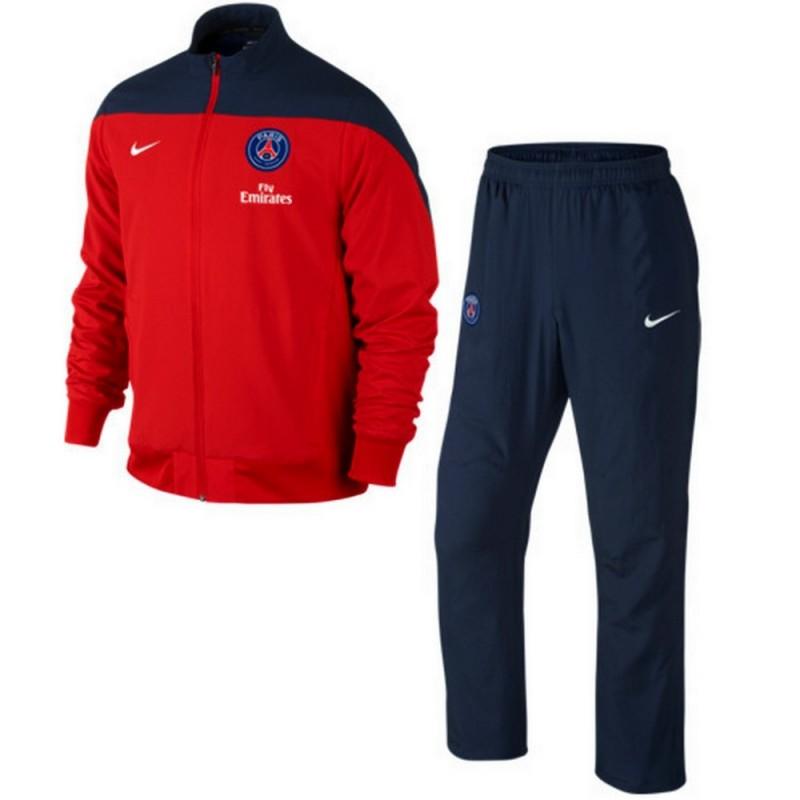 Survêtement PSG: Survêtement de présentation Paris Saint Germain 2014 Nike SportingPlus Passion for Sport