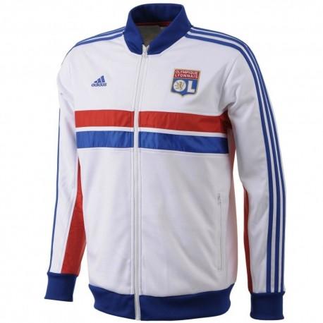 OL Olympique Lyon 2013/14 Anthem Track Jacket - Adidas