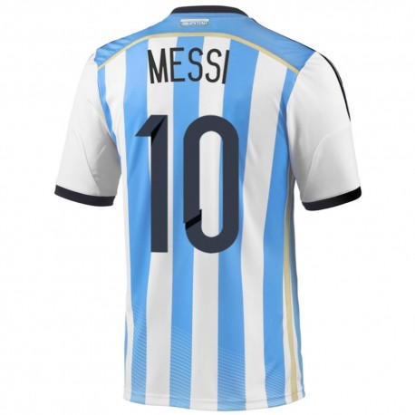 Argentina Home football shirt 2014/15 Messi 10 - Adidas