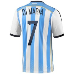National Argentine Maillot de foot Home 2014/15 Di Maria 7 - Adidas