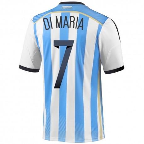 Argentina Home football shirt 2014/15 Di Maria 7 - Adidas