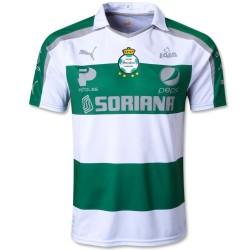 Maillot de foot de Santos Laguna Accueil 2013/14 - Puma