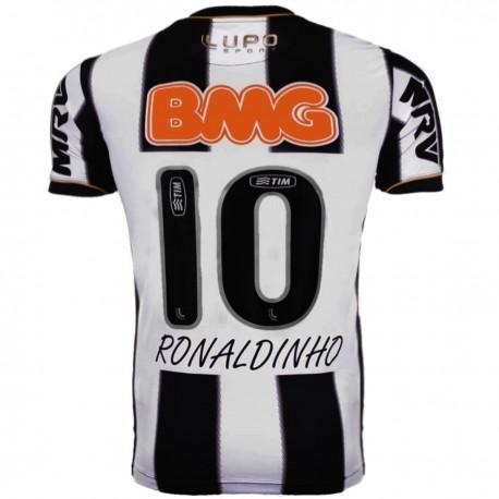 Maglia calcio Atletico Mineiro Home 2013/14 Ronaldinho 10 - Lupo