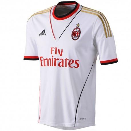 Ac Milan Soccer Jersey 2013/2014 Away Adidas