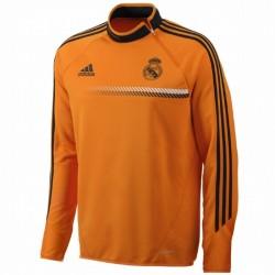 Felpa tecnica da allenamento Real Madrid CF 2013/14 UCL - Adidas - Arancio