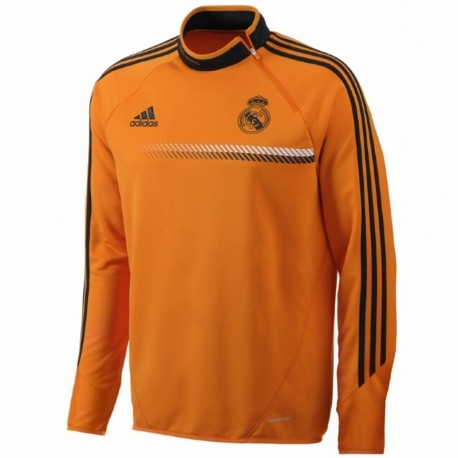 c18369afe5f Technical training top Real Madrid CF 2013 14 UCL Adidas - Orange ...