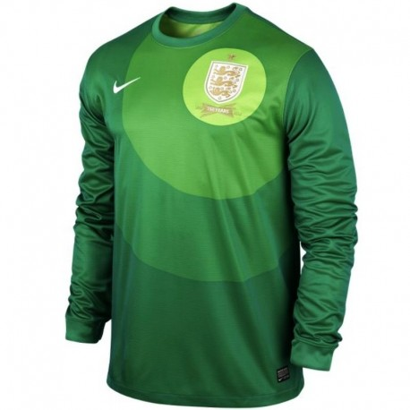 National goalkeeper England Home Jersey 2013/14-Nike