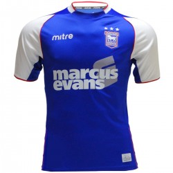 Ipswich Town FC Home soccer jersey 2013/14 - Mitre
