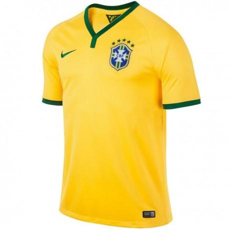 detailed look fec1d f9426 Brazil National football team Home shirt 2014/15 - Nike ...