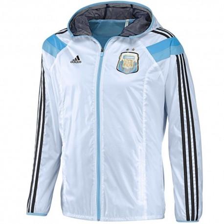 Rappresentanza Argentina Giacca 2014 Pre Adidas Match Nazionale FCnq8Y4wn
