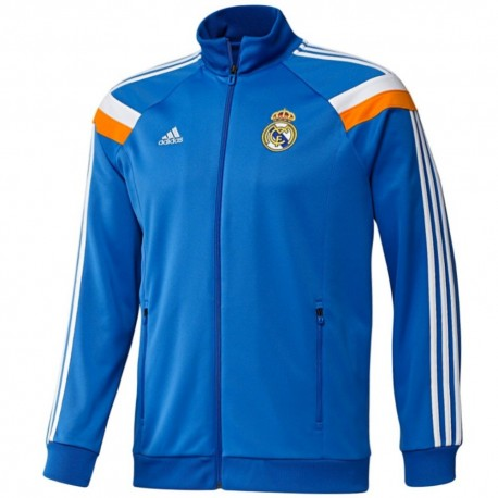 Giacca rappresentanza pre-gara Real Madrid CF 2013/14 azzurro - Adidas