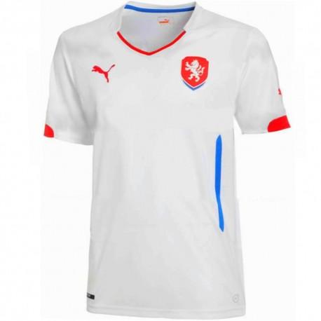 Maglia calcio nazionale Repubblica Ceca Away 2014/15 - Puma
