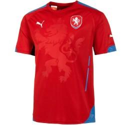 Tschechien Home Fußball Trikot 2014/15 - Puma