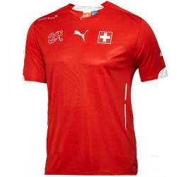 Maillot de foot Suisse domicile 2014/15 - Puma