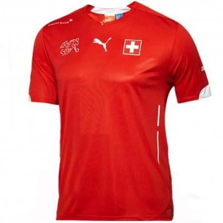 Maglia calcio nazionale Svizzera Home 2014/15 - Puma