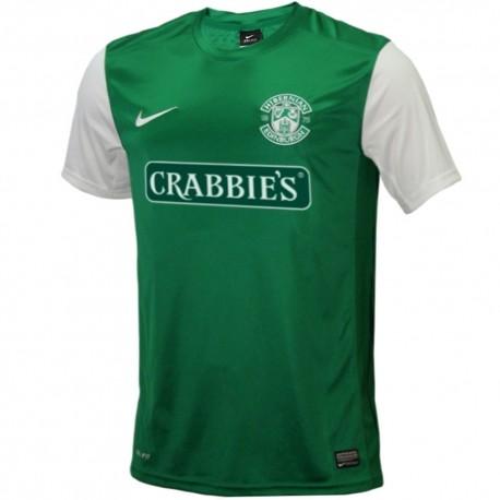 Maglia calcio Hibernian Edinburgh Home 2013/14 - Nike