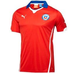 Camiseta de fútbol Chile selección local 2014/15 - Puma