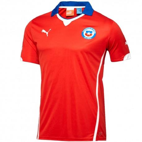 Maglia calcio nazionale Cile Home 2014/15 - Puma