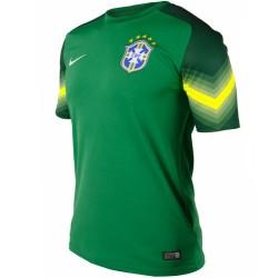 Maillot de foot gardien Brésil Home 2014/15 - Nike