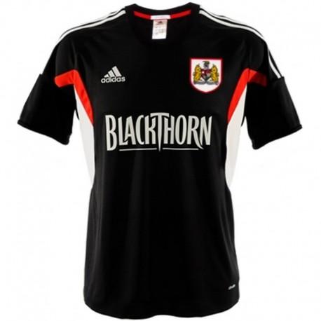 Bristol City FC Away soccer jersey 2013/14 - Adidas