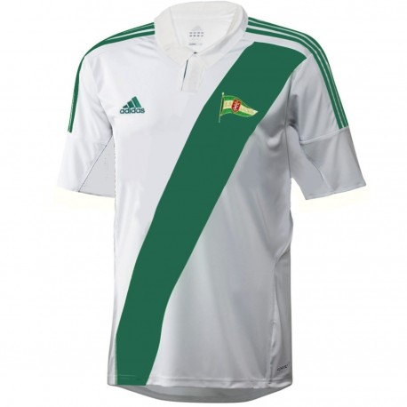 Lechia Gdansk Home Player Issue football shirt 2012/13 - Adidas